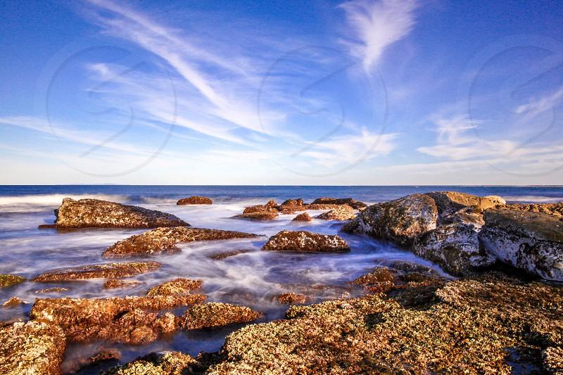 Rocky Ocean landscape photography  photo