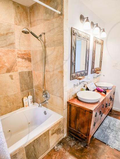 Bathroom in the house  photo