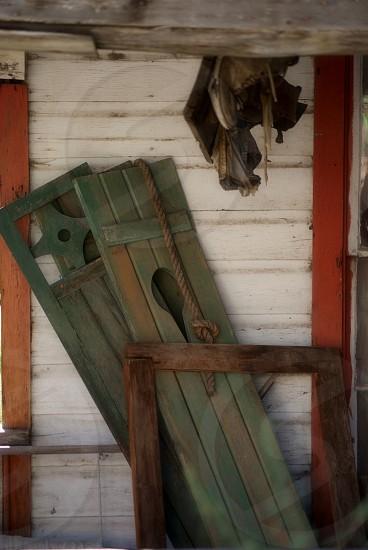 Rustic porch  photo