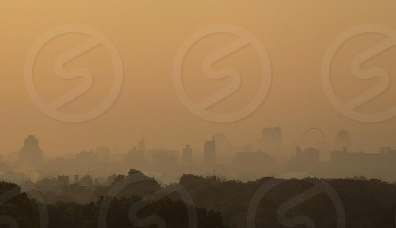 St. Louis skyline photo