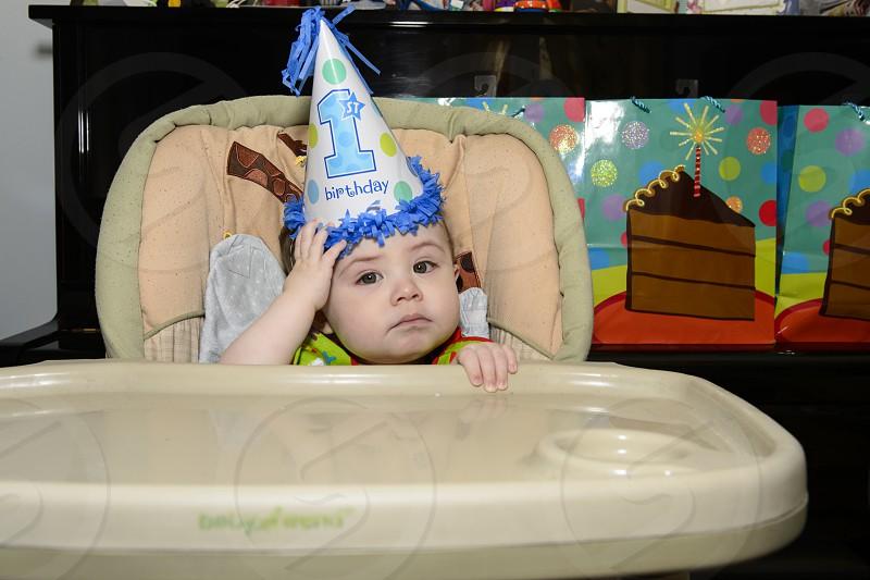 Don't forget - Baby's 1st Birthday - Celebration photo