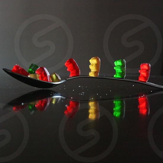 Candy gummybears  photo