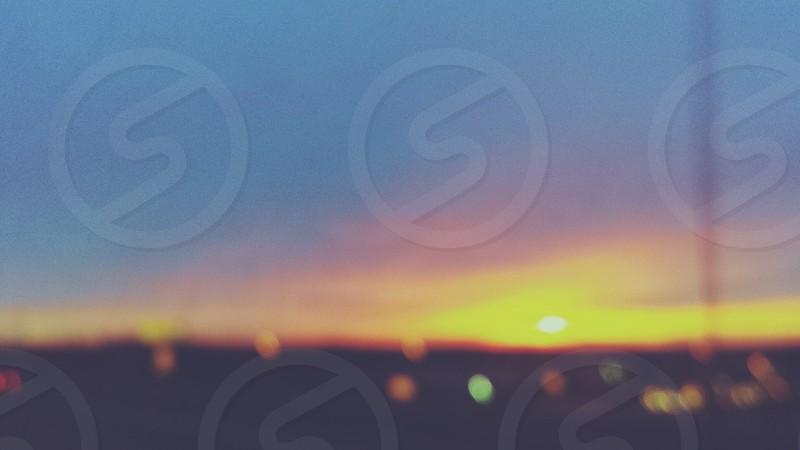 Bokeh Sunset photo
