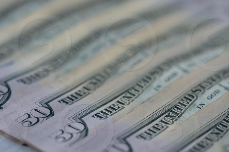 5 50 us dollar bills photo