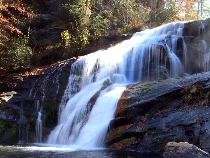 water falls photo