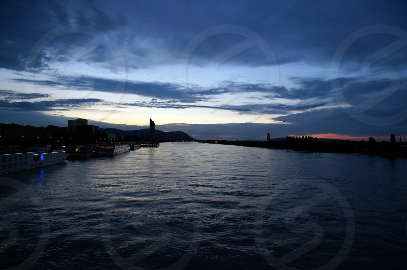 Vienna Danube photo