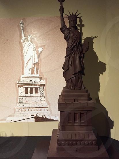 Chocolate sculpture photo