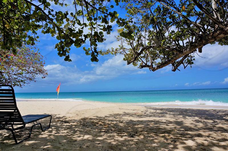 Grand Anse Grenada #summer #beach #caribbean #ocean #sand #beachchairs #sunny #water photo