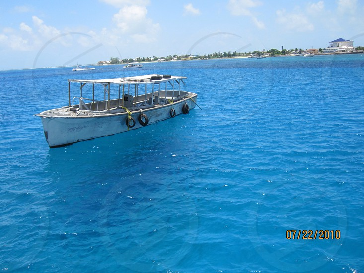 Caribbean waters photo
