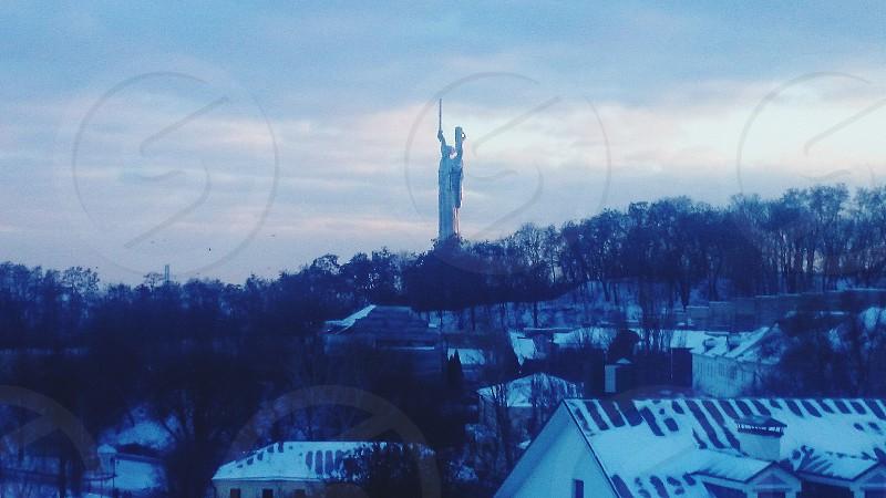 #kiev #ukraine #winter #snow #glory photo