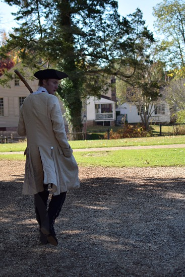 Just another day in Colonial Williamsburg photo