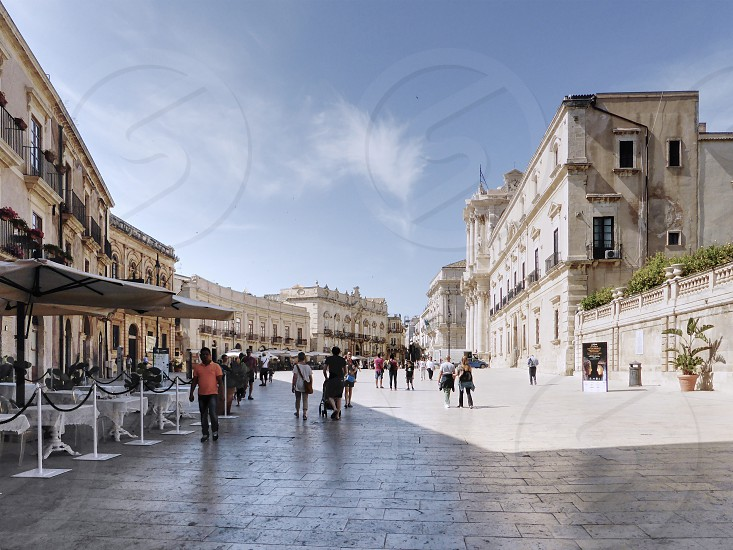 Cathedral square - Ortygia - Sicily - Italy photo