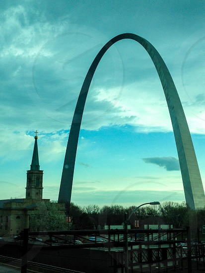 St. Louis arch photo