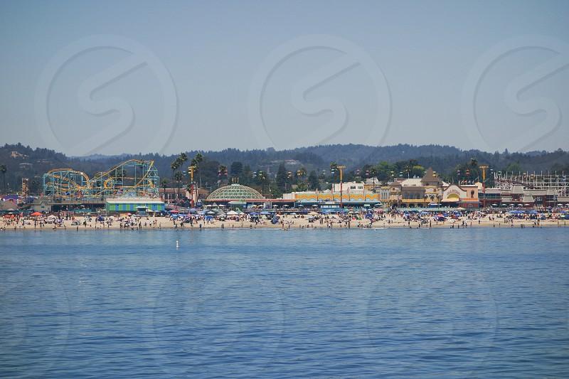 seaside themepark photo