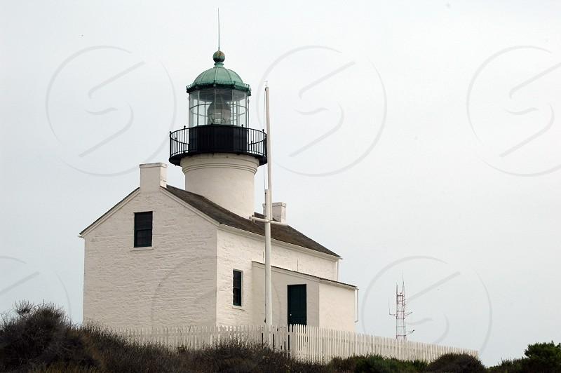 Point Loma Lighthouse in San Diego California photo