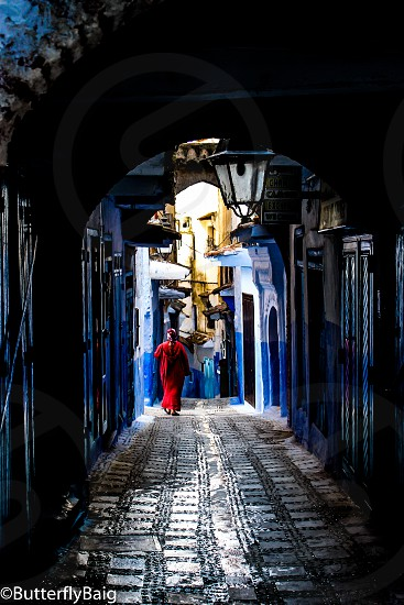Chefchaouen The Blue City of Morocco. Street vibes photo
