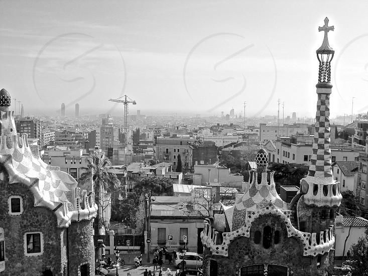 view of Barcelona (Spain) photo