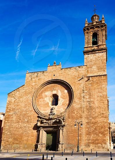 Valencia Santos Juanes historic Church in Spain photo