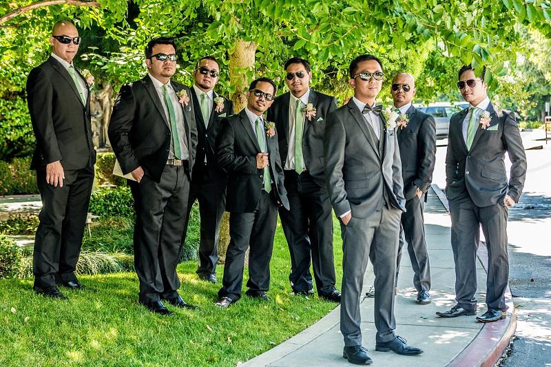 Men in suits photo