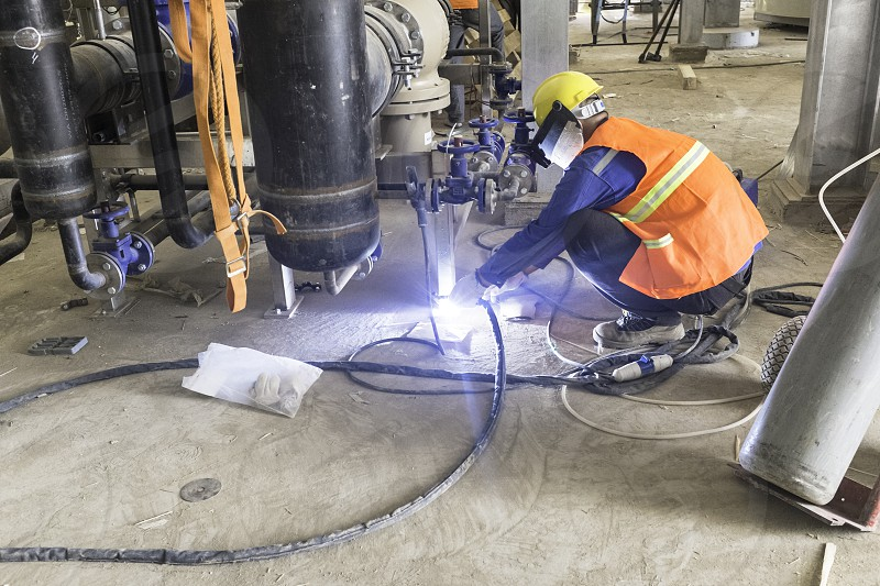 welder operator photo