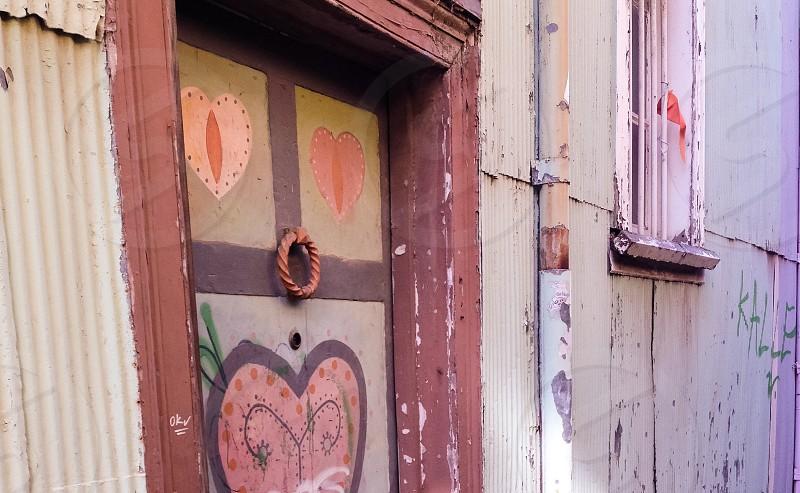Secret promise of love - Valparaiso Chile photo