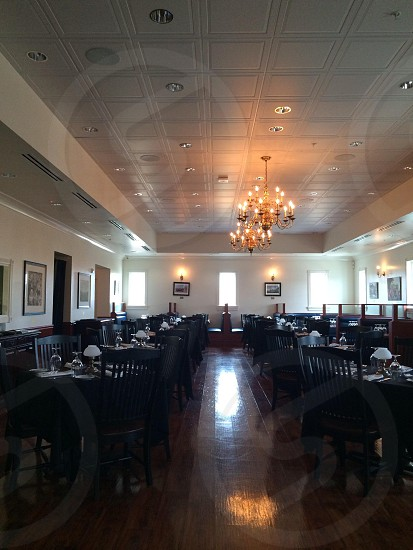 black dining tables  photo
