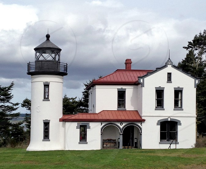 Fort Casey Lighthouse Whidbey Island Wa photo