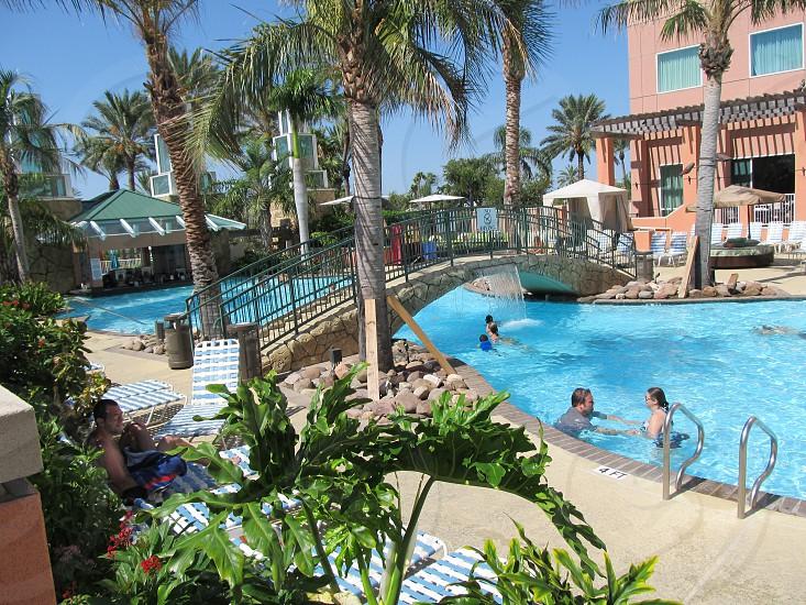 Great hotel pool photo