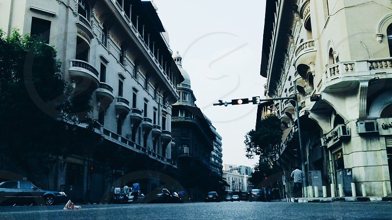 Downtown Cairo Egypt. Streets Architecture photo