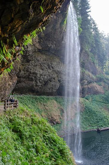 Waterfall outdoor adventure  photo