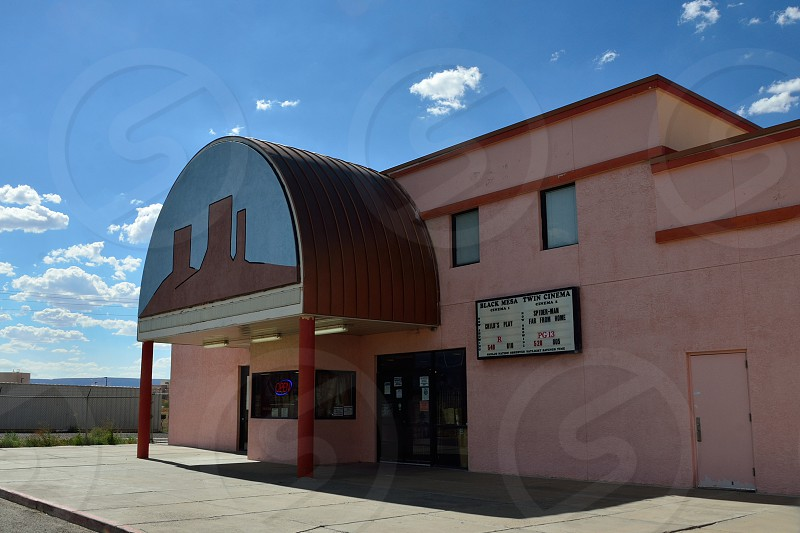 Cinemas in Indian Reservation. photo