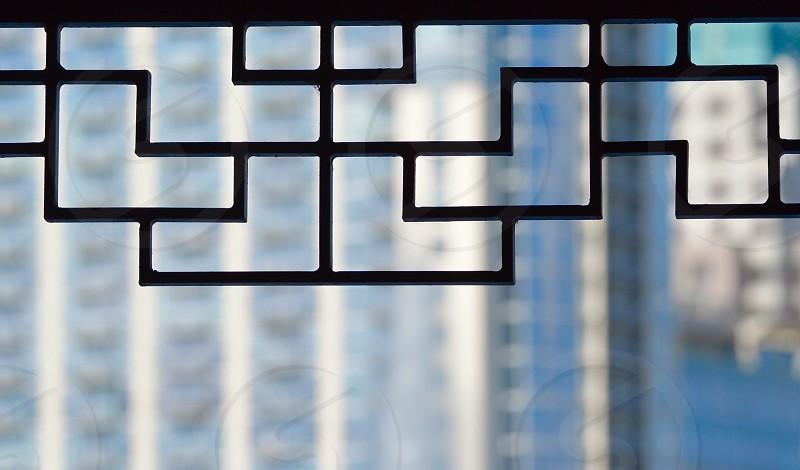 Shapes Lines Geometry Geometric Buildings  photo