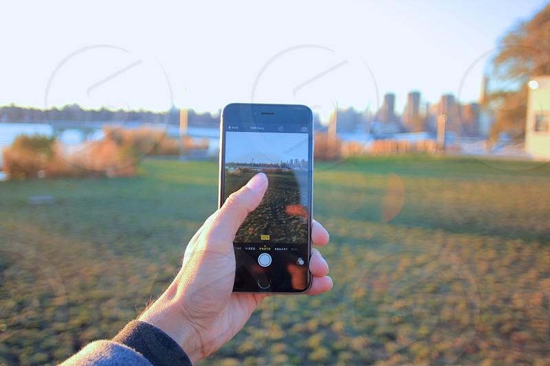 NYC park photo photo