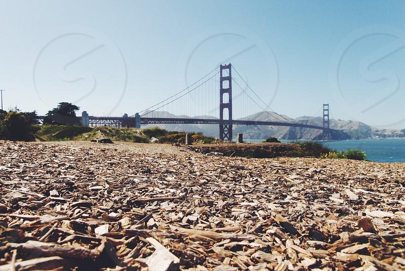 San francisco golden gate bridge city california usa landmark photo