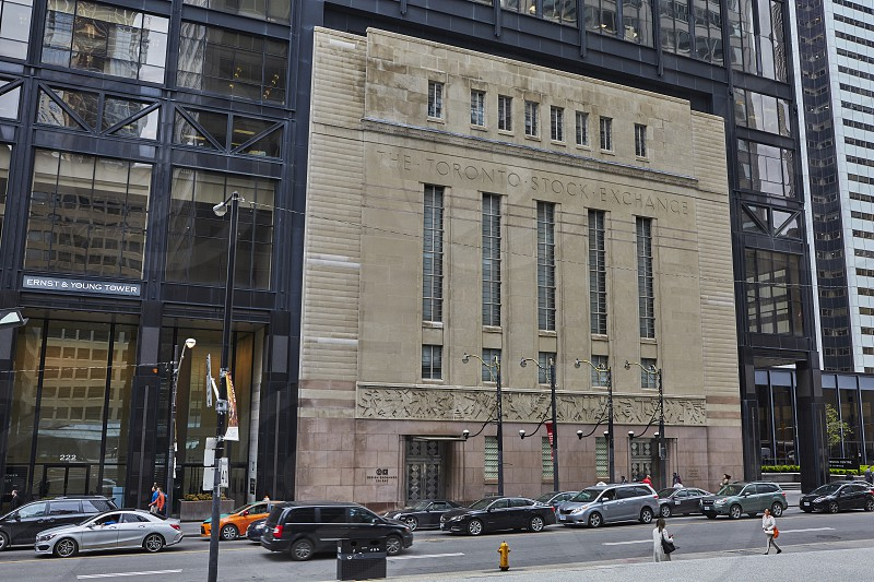 Front of the Toronto Stock Exchange Building photo