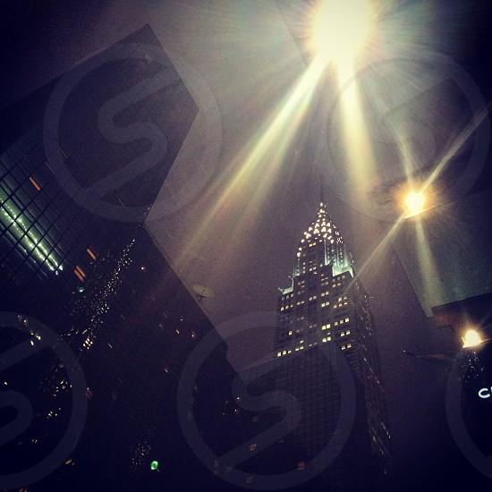 Chrysler Building NYC USA.  photo