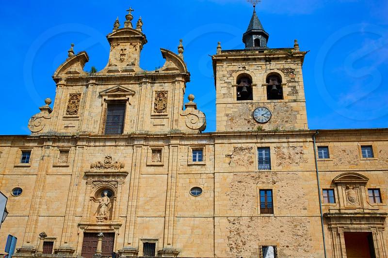 Villafranca del Bierzo by Way of Saint James in Leon Spain convento Padres Paules photo