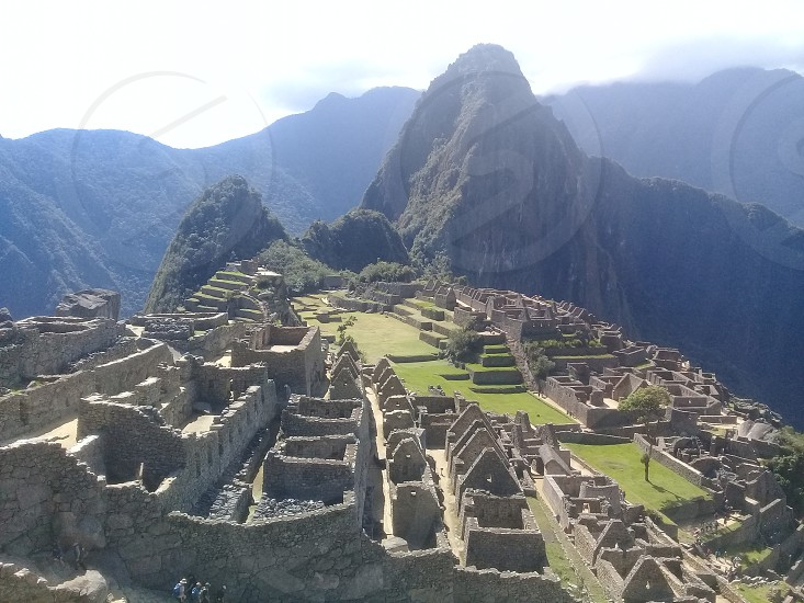 Machu Picchu Inka City photo