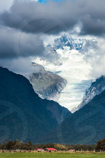 Living in the Shadow of the Fox Glacier photo