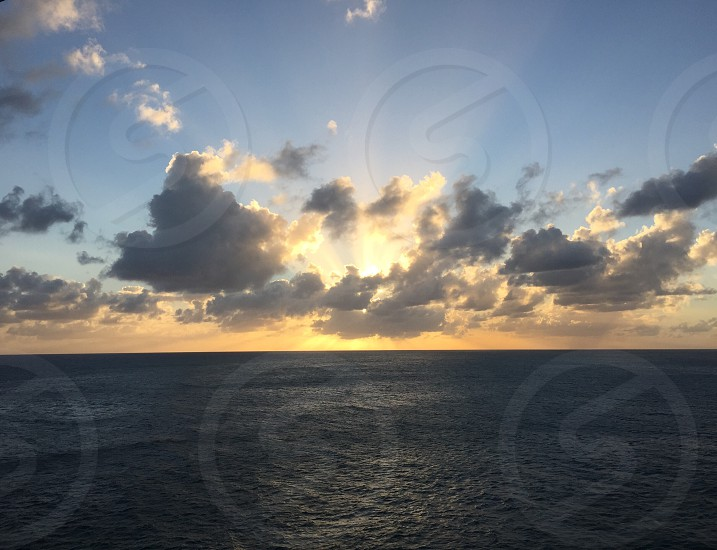 Inspiring reflective meditative IV photo