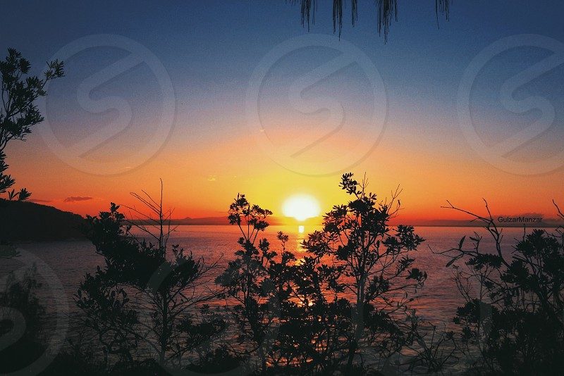 Sunset Noosa Queensland photo