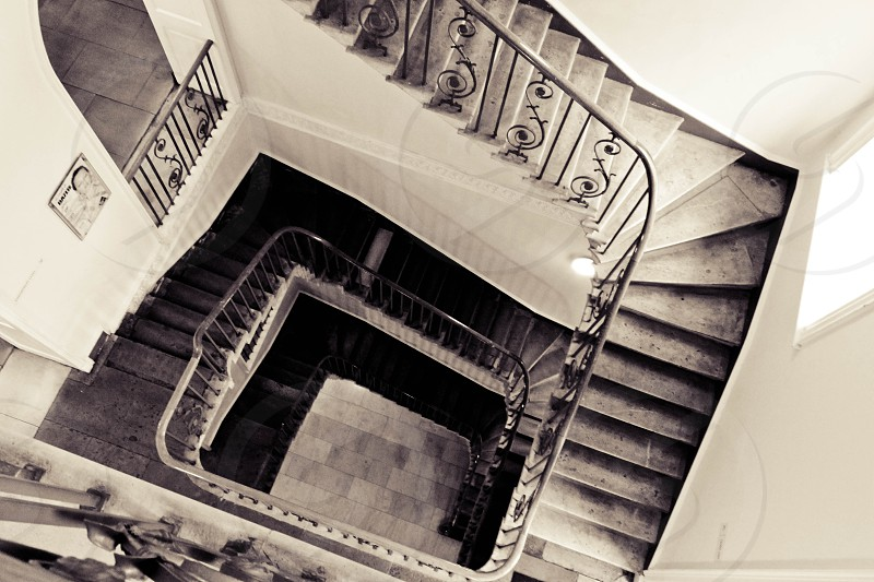 Stairscase - Somerset House - London  photo