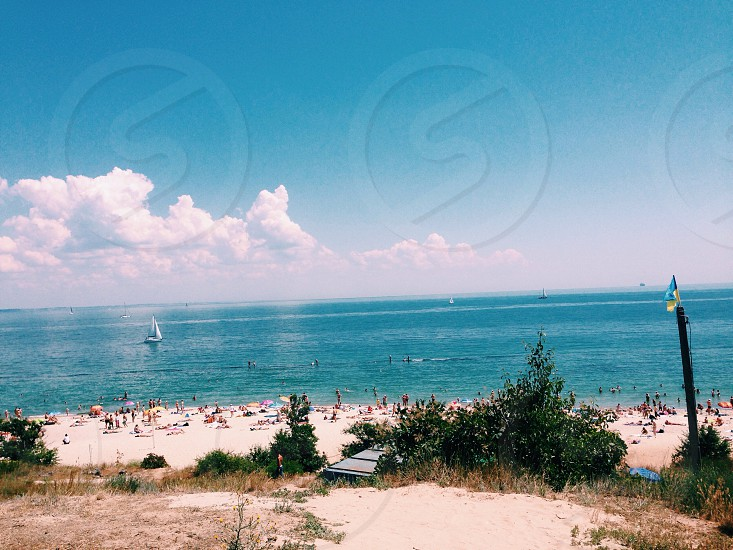 beach Odessa Odessa beach summer summertime sea  photo