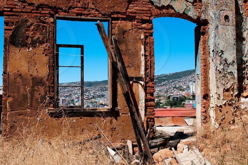 urban valparaiso chile photo
