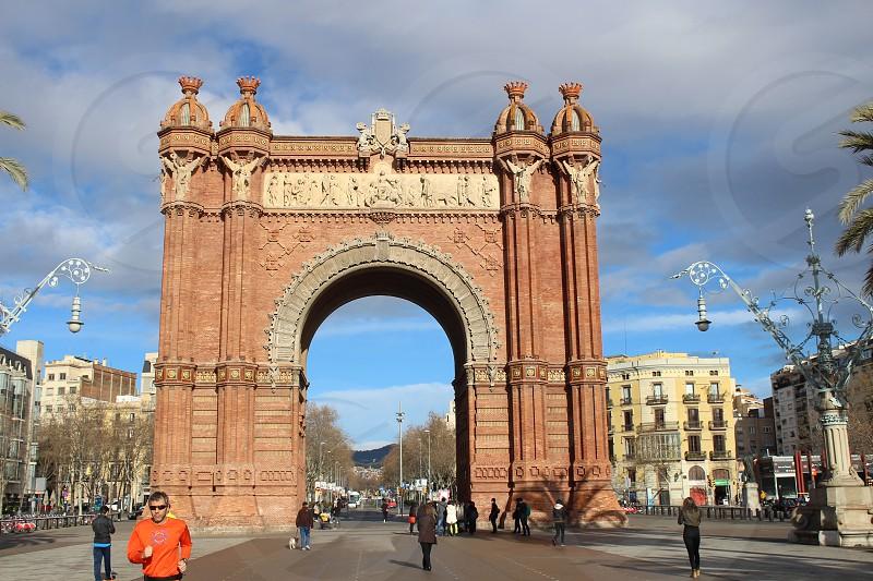 Barcelona gate photo