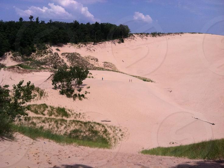 Saugatuck MI sand dunes  photo
