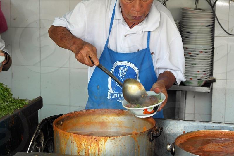 street food in Penang Malaysia photo