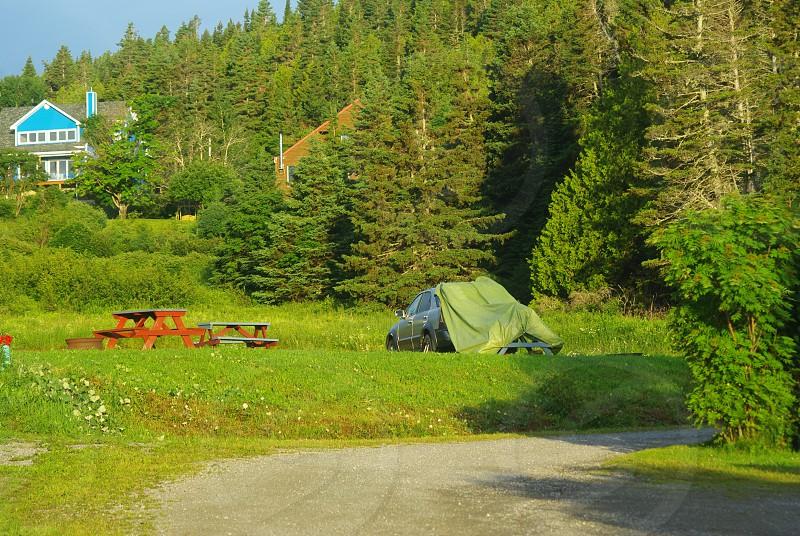 Roadtrip en Gaspésie Camping du Village Percé QC Canada photo