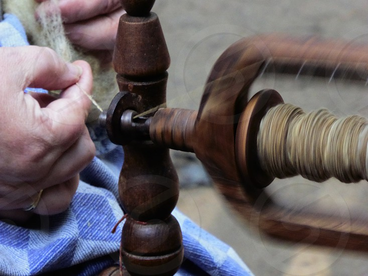Spinningwheel photo