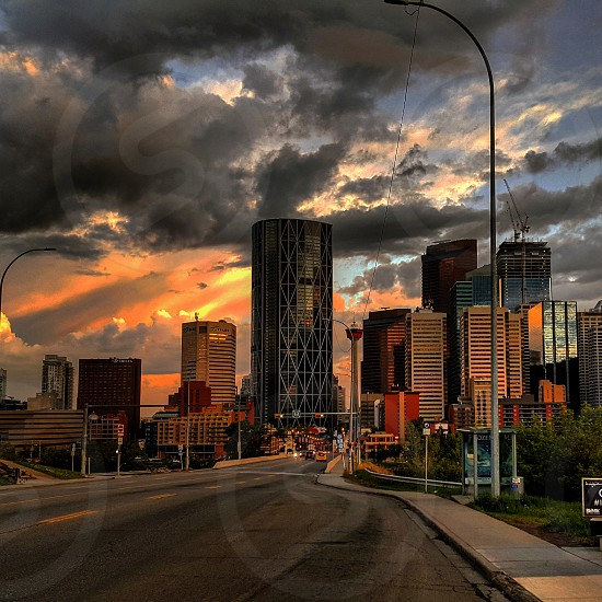 calgary after storm photo